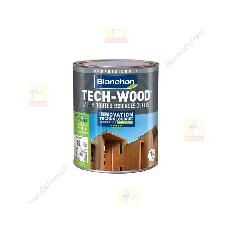 lasure bois ext rieur tech wood blanchon. Black Bedroom Furniture Sets. Home Design Ideas