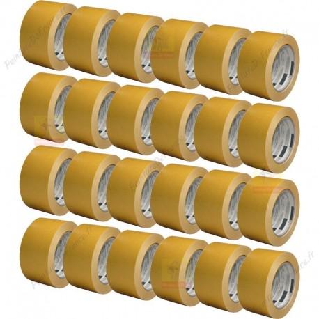 Adhésif Double Face silicone forte adhérence sur surface lisses 50 mm x 25 m X24