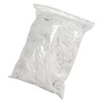 Chiffons blanc tricot recyclé sachet de 1 kg