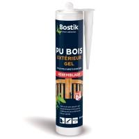 Colle polyuréthane BOSTIK PU BOIS GEL Hautes performances assemblage