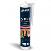 Colle polyuréthane Gel BOSTIK PU BOIS Hautes performances assemblage