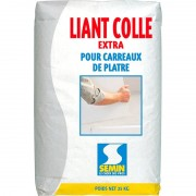 Liant Colle Extra SEMIN colle carreaux de plâtre 25 kg