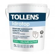 Peinture TOLLENS Idrotop Velours Satiné 5l