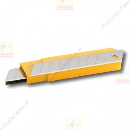 Lames de recharge cutter OLFA vendu en étui de 10 lames 18 mm