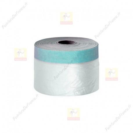Film protection plastique adhésif 55 cm x 30 m
