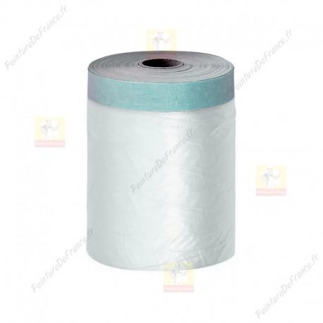 Film protection plastique adhésif 110 cm x 30 m