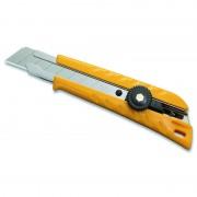 Cutter OLFA Guide métal avec vis de blocage et ergo angleser 18 mm