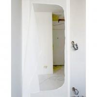 Porte sas anti-poussière pour chantier + ruban double face fourni 100 X 215 cm