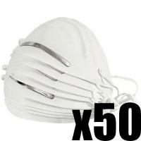 Boite de 50 masques respiratoire de protection