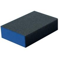 Éponge abrasive pour ponçage, égrainage et polissage
