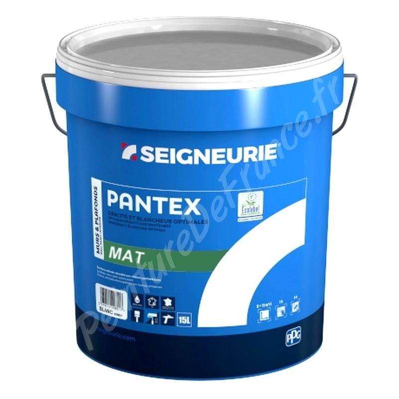 Peinture Seigneurie Pantex Mat Blanc 15l à 142 43