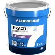 Peinture SEIGNEURIE Practi Velours Blanc 15L