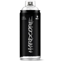 Bombe de peinture HARDCORE jet puissant et couvrant BRILLANTE 400 ml - Les CLASSIQUES