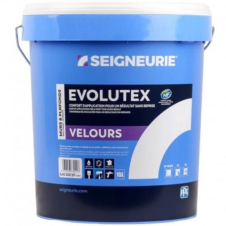 Peinture SEIGNEURIE Evolutex Velours BLANC 15L