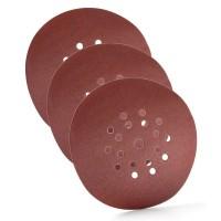 Disques auto-agrippant 19 trous SCHULLER 185 g /m² diamètre 225 mm (VENDU PAR 3)
