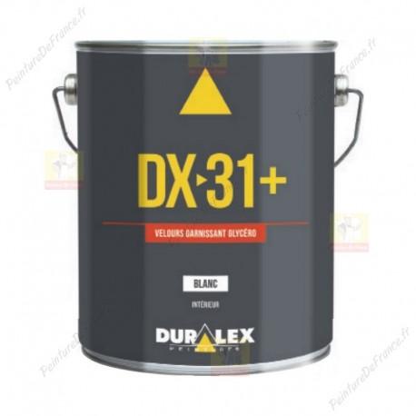 Peinture DURALEX DX 31+ glycéro Velouté pochée BLANC 3L