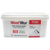 Enduit de préparation prêt à l'emploi NIVEL'MUR sous couche carrelage avant application de Béton ciré 5 kg