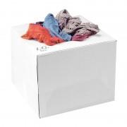 Carton chiffons couleurs recyclé 10 kg