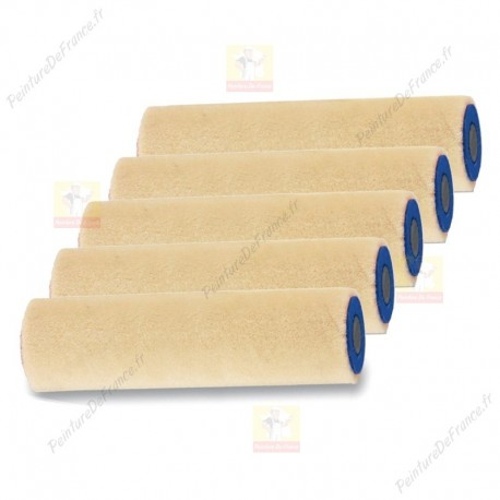 Sachet de 5 Rouleaux pour laques VELOUR tendu extrême L.180 Ep: 4 mm