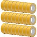 Carton de 24 rubans adhésifs double face Toilé renforcé en silicone l:50 mm et L:25 m