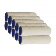 Sachet de 10 petits rouleaux pour laques VELOUR tendu extrême L.110 Ep: 4 mm