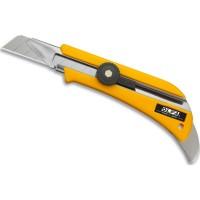 Cutter OLFA OL usage intensif, avec guide ergot en métal pour araser et pousser la moquette 18 mm