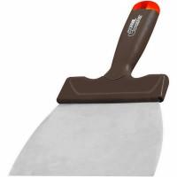 Couteau à enduire L'OUTIL PARFAIT lame arrondie anti-traces acier verni