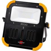 Projecteur portable LED BLUMO 3000 A BRENNENSTUHL avec haut-parleurs Bluetooth 3000 lumens