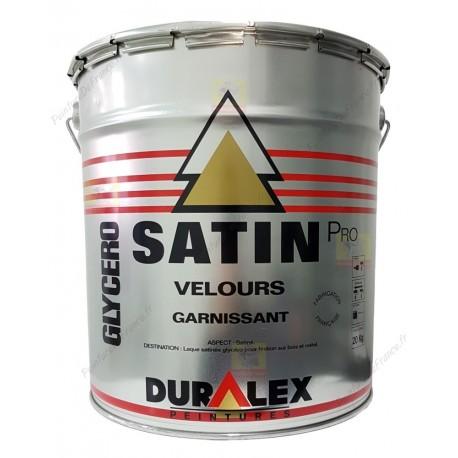 Peinture DURALEX Pro Garnissant SATIN BLANC 20 Kg