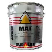 Peinture DURALEX Garnisant Mat & Impression BLANC 20 Kg