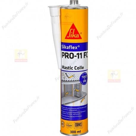 Sikaflex PRO-11 FC mastic-colle mono composant TOUT en UN fixation, étanchéité et calfeutrement 300 ml BLANC