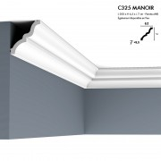 Corniche ORAC C325 MANOIR ingénieux jeu d'ombre et de lumière 2 m