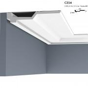 Corniche ORAC C354 grâce à sa faible ligne d'ombre, elle donne l'impression de flotter 2 m