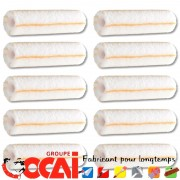 GOLDERYC mini rouleau peinture OCAI , grande absorption L.180 mm, Poils: 12 mm x10