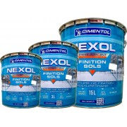 Peinture de sol CIMENTOL Nexol au polyuréthane pour garage, balcon Demi Brillant