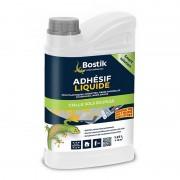 Adhésif Liquide BOSTIK colle sols souples, sol plastiques, moquettes ... 12 m²