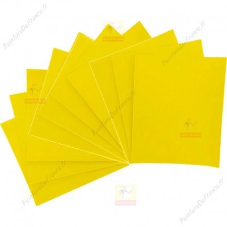 Lot de 10 feuilles abrasives PRIMEX standard pour le plâtre, enduits et le bois 230 x 280 mm