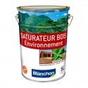 Saturateur Bois Environnement BLANCHON protège et embellit bois extérieurs 5L