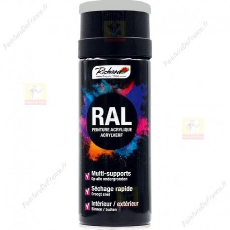 Aérosol RAL peinture acrylique RICHARD multi-supports 400 ml RAL 7035