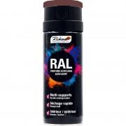 Aérosol peinture RICHARD tous supports RAL Marron 400 ml RAL 8002