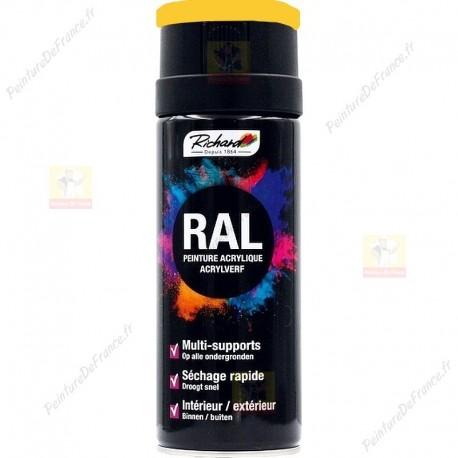 Aérosol RAL peinture acrylique RICHARD multi-supports 400 ml RAL 1018