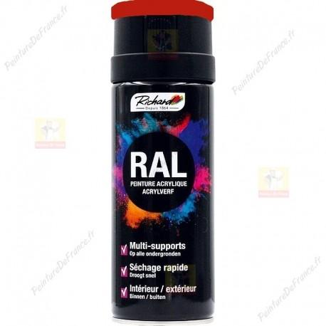 Aérosol RAL peinture acrylique RICHARD multi-supports 400 ml RAL 3020