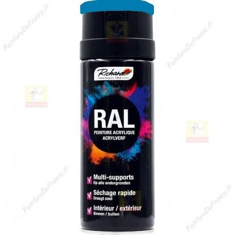 Aérosol peinture RICHARD tous supports RAL Marron 400 ml RAL 5015