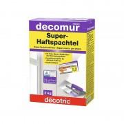 Enduit plâtre résiné et fibré DECOTRIC decomur S45 Super Enduit intérieur 2kg