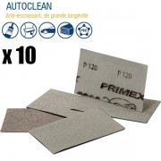Garnitures abrasives PRIMEX Autoclean, grande longévité x10