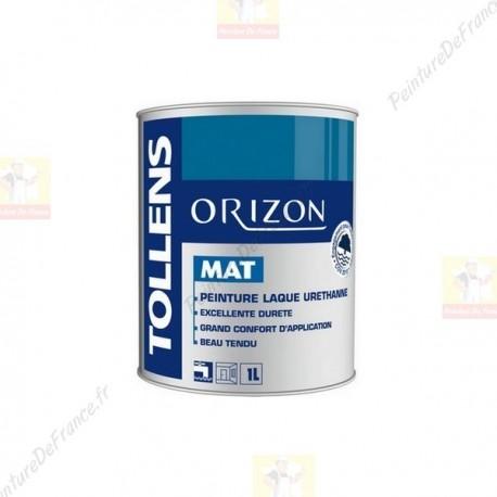 Laque TOLLENS Orizon Mat BLANC 1L