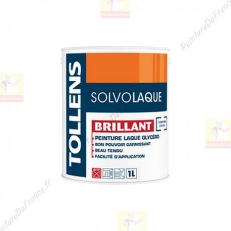 Laque TOLLENS Solvolaque Brillant BLANC 1L