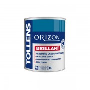 Laque TOLLENS Orizon Brillant BLANC 1L