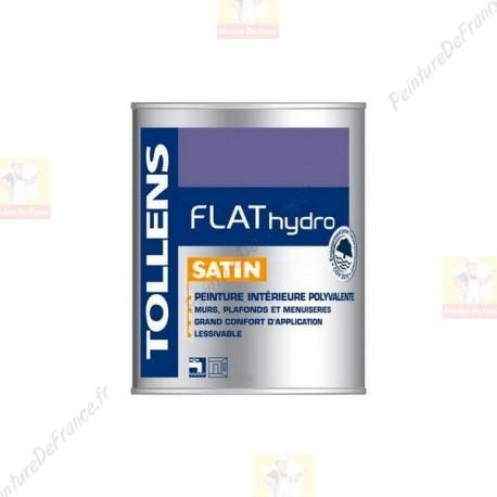Peinture TOLLENS Flat Hydro Satin BLANC 1L