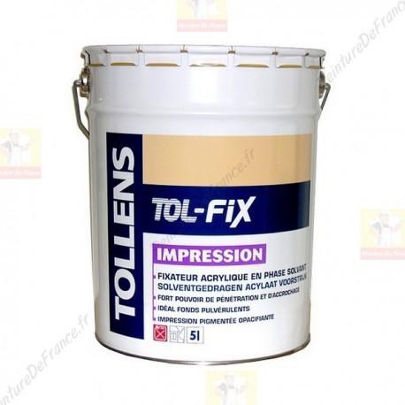 Impression TOLLENS Tol-Fix fort pouvoir d'accrochage 5L